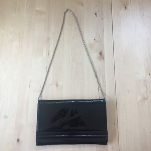 Vintage Patent Leather Evening Bag